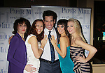After Party Opening Night of Boeing-Boeing starring One Life To Live Matt Walton (Benard) with Beth Leavel, Heather Parcells, Brynn O'Malley & Anne Horak on January 22, 2012 at the Paper Mill Playhouse, Millburn, New Jersey. (Photo by Sue Coflin/Max Photos)