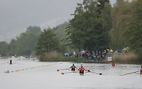 Lucerne, SWITZERLAND<br /> <br /> Genersl View of the warm down area at the 2016 European Olympic Qualifying Regatta, Lake Rotsee.<br /> <br /> Monday  23/05/2016<br /> <br /> [Mandatory Credit; Peter SPURRIER/Intersport-images]