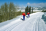 Colorado: Cross Country Skiing, Beaver Creek, model released, Photo: cocros105   .Photo Copyright: Lee Foster, (510) 549-2202, lee@fostertravel.com, www.fostertravel.com