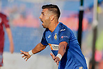 Angel Rodriguez of Getafe CF celebrates goal during UEFA Europa League match between Getafe CF and Trabzonspor at Coliseum Alfonso Perez in Getafe, Spain. September 19, 2019. (ALTERPHOTOS/A. Perez Meca)
