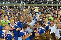 Belo Horizonte, MG, 13.04.2014 - CAMPEONATO MINEIRO - CRUZEIRO X ATLÉTICO - Cruzeiro Campeão durante partida entre Cruzeiro x Atlético, válida pelo Campeonato Mineiro realizado no Estádio Mineirão neste domingo, 13. (Foto: Daniel Oliveira / Brazil Photo Press)
