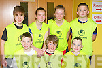 The Castleisland Blazers basketballers who participated in the Garda/KDYS Good Friday basketball blitz in Castleisland front row l-r:Jason Browne, Kevin O'Mahony, Dominick Broderick. Back row: Padraig o'Connell, Darya O'Connell, Anita McCarthy and Damian Feehan..