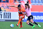 Shandong Luneng (CHN) vs Buriram United (THA) during the AFC Champions League 2016 Group Stage F at Jinan Olympic Sports Stadium on 01 March 2016 in Jinan, Shandong Province, China. Photo by Marcio Machado/Power Sport Images.