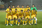 Players of Thailand Team line up and pose for a photo prior to their AFF Suzuki Cup 2008 Group B match between Laos and Thailand at Surakul Stadium on 08 December 2008, in Phuket, Thailand. Photo by Stringer / Lagardere Sports