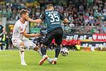 20.07.2018, Parkstadion, Zell am Ziller, AUT, FSP, 1.FBL, SV Werder Bremen (GER) vs 1. FC Koeln (GER)<br /> <br /> im Bild<br /> Salih Özcan / Oezcan (Koeln #20) im Duell / im Zweikampf mit Maximilian Eggestein (Werder Bremen #35), <br /> <br /> Foto © nordphoto / Ewert