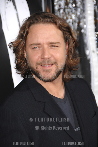 "Russell Crowe at an industry screening for his new movie ""American Gangster"" at the Arclight Theatre, Hollywood..October 30, 2007  Los Angeles, CA.Picture: Paul Smith / Featureflash"