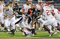 6 December 2008:  FIU wide receiver Jason Frierson (80) breaks away on a reverse in the third quarter of the FIU 27-3 victory over Western Kentucky at FIU Stadium in Miami, Florida.