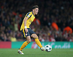 Arsenal's Mesut Ozil in action during the Champions League group A match at the Emirates Stadium, London. Picture date September 28th, 2016 Pic David Klein/Sportimage