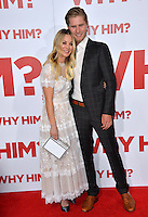 Actress Kaley Cuoco &amp; boyfriend equestrian rider Karl Cook at the world premiere of &quot;Why Him?&quot; at the Regency Bruin Theatre, Westwood. December 17, 2016<br /> Picture: Paul Smith/Featureflash/SilverHub 0208 004 5359/ 07711 972644 Editors@silverhubmedia.com
