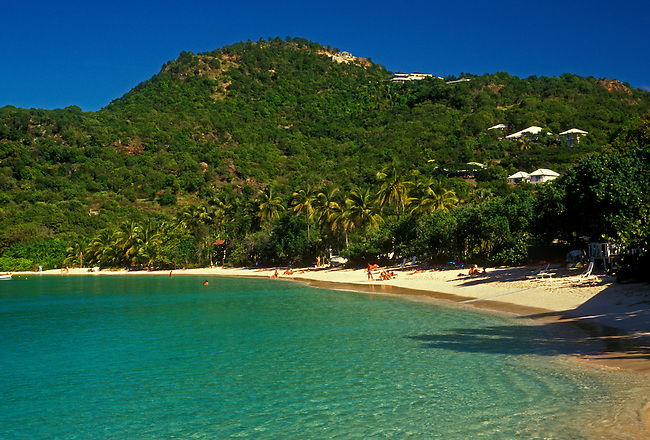 Pelican Beach at Saint Jean Bay, Saint Barthelemy (St Barts); French West Indies