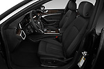Front seat view of a 2019 Audi A7 Prestige 5 Door Hatchback front seat car photos