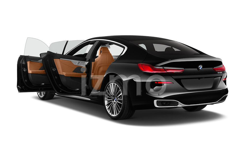 Car images close up view of a 2019 BMW 8 Series Basis 4 Door Sedan doors