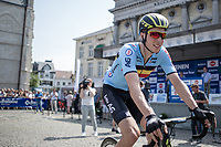 pre race: GC Winner Jens Keukeleire (BEL/Team Belgium) in the (occasionally) Belgian Cyling shirt. <br /> <br /> Baloise Belgium Tour 2017 (2.HC)<br /> Stage 5: Tienen - Tongeren 169.6km