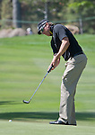 August 3, 2012: Ricky Barnes from Phoenix, AZ putts on the 14th hole during the second round of the 2012 Reno-Tahoe Open Golf Tournament at Montreux Golf & Country Club in Reno, Nevada.