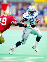Mike Pringle Baltimore Stallions 1994. Photo F. Scott Grant