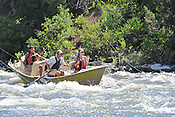 Fishermen & Women floating the Upper Colorado River fishing between Rancho Del Rio and State Bridge on July 9, 2014.