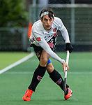 AMSTELVEEN - Niek Merkus (Adam)  tijdens de hoofdklasse competitiewedstrijd heren, AMSTERDAM-ROTTERDAM (2-2). . COPYRIGHT KOEN SUYK