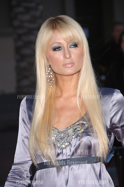 PARIS HILTON at the 2006 American Music Awards at the Shrine Auditorium, Los Angeles..November 21, 2006  Los Angeles, CA.Picture: Paul Smith / Featureflash