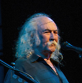 A portrait of David Crosby.  David Crosby, Graham Nash and very special guests at the Maui Arts &  Cultural Center.  A concert for Ruthie on August 29, 2013.