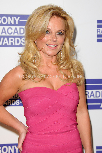 WWW.ACEPIXS.COM . . . . .  ..... . . . . US SALES ONLY . . . . .....May 9 2011, London....Geri Haliwell arriving at the Sony Radio Academy Awards at The Grosvenor House Hotel on May 9, 2011 in London, England. ....Please byline: FAMOUS-ACE PICTURES... . . . .  ....Ace Pictures, Inc:  ..Tel: (212) 243-8787..e-mail: info@acepixs.com..web: http://www.acepixs.com