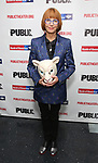 """Jane Anderson attends the Opening Night Celebration for """"Mother of the Maid"""" on October 18, 2018 at the Public Theatre in New York City."""