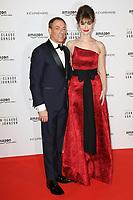 """JEAN-CLAUDE VAN DAMME, KAT FOSTER - AVANT-PREMIERE DE """"JEAN-CLAUDE VAN JOHNSON"""" AU GRAND REX A PARIS, FRANCE, LE 12/12/2017."""