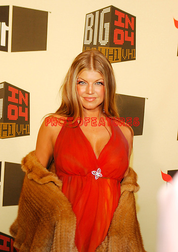Fergie of Black Eyed Peas.at the VH1 Big In 2004 Awards at the Shrine Auditorium in Los Angeles, December 1st 2004. Photo by Chris Walter/Photofeatures.