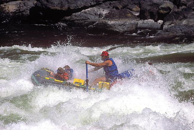 River Rafting, Snake River, Hell's Canyon, Oregon