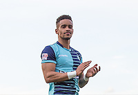 Winning goal scorer Paris Cowan-Hall of Wycombe Wanderers during the Sky Bet League 2 match between Grimsby Town and Wycombe Wanderers at Blundell Park, Cleethorpes, England on 4 March 2017. Photo by Andy Rowland / PRiME Media Images.