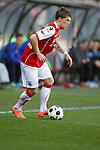 Nederland, Alkmaar, 25 maart 2012.Eredivisie.Seizoen 2011-2012.AZ-RKC Waalwijk (1-0).Johann Berg Gudmundsson van AZ in actie met bal