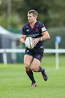 Fraser Lyle of London Scottish during the Greene King IPA Championship match between London Scottish Football Club and Hartpury RFC at Richmond Athletic Ground, Richmond, United Kingdom on 28 October 2017. Photo by David Horn.