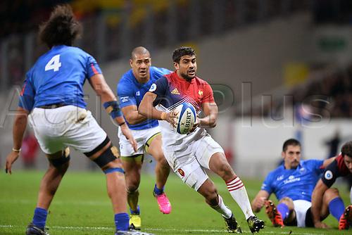 12.11.2016. Stadium Toulouse, Toulouse, France. Autumn International rugby match, France versus Samoa.  Wesley Fofana (fra)