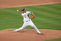22 March 2009: #18 Daisuke Matsuzaka of Japan pitches against USA during the 2009 World Baseball Classic semifinal game at Dodger Stadium in Los Angeles, California, USA. Japan wins 9-4 over Team USA.
