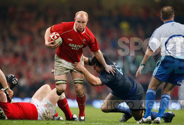 Martyn Williams of Wales