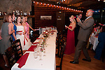 Wedding of Gia Tritico and Victor Salerno, Black Canyon Inn, Twin Owls Restaurant, Estes Park, Colorado, USA