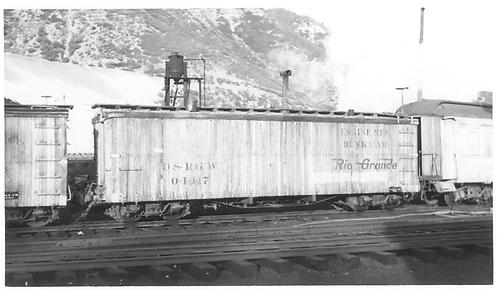 Enginemen's bunk car 04417.<br /> D&amp;RGW    Taken by Maxwell, John W. - 5/30/1968