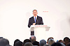 Conservative Spring Forum at Welsh Conference, Cardiff, Wales, Great Britain <br /> 17th March 2017 <br /> <br /> <br /> The Rt Hon Liam Fox MP <br /> Secretary of State for International Trade <br /> <br /> <br />  <br /> <br /> Photograph by Elliott Franks <br /> Image licensed to Elliott Franks Photography Services