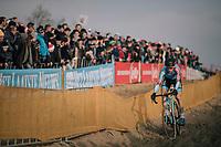 Kevin Pauwels (BEL/Marlux-Bingoal)<br /> <br /> Elite Men's Race<br /> Belgian National CX Championships / Koksijde 2018