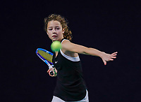 Hilversum, Netherlands, December 3, 2017, Winter Youth Circuit Masters, 12,14,and 16 years, Loes Ebeling Koning (NED)<br /> Photo: Tennisimages/Henk Koster