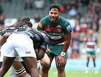 Leicester Tigers' Manu Tuilagi <br /> <br /> Photographer Stephen White/CameraSport<br /> <br /> Gallagher Premiership Round 2 - Leicester Tigers v Newcastle Falcons - Saturday September 8th 2018 - Welford Road - Leicester<br /> <br /> World Copyright &copy; 2018 CameraSport. All rights reserved. 43 Linden Ave. Countesthorpe. Leicester. England. LE8 5PG - Tel: +44 (0) 116 277 4147 - admin@camerasport.com - www.camerasport.com