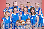 The Tralee Imperials team who played in the Martha Boyle Basketball Tournament in Currow Community Centre last Sunday. Front l-r: Seona Quigley and Sinead OConnor. Middle row l-r: McKenzie Keane, Meabhdh Barry, Ellie Scanlon and Niamh Commerford. Back row l-r: Kateanne OConnor, Hilary White, Deirdre Kearney, Kate Mansfield and Sarah Rath..
