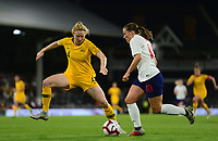 Fran Kirby of England in action during the Women's International friendly match between England Women and Australia at Ashton Gate, Bristol, England on 9 October 2018. Photo by Bradley Collyer / PRiME Media Images.