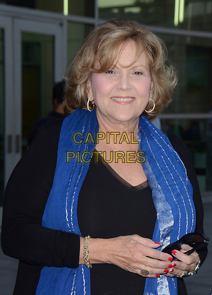 Brenda Vaccaro<br /> Screening of &quot;The Grandmaster&quot;, Hollywood, California, USA.<br /> August 22nd, 2013<br /> half length black top blue scarf<br /> CAP/ADM/TW<br /> &copy;Tonya Wise/AdMedia/Capital Pictures
