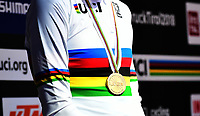 Picture by Simon Wilkinson/SWpix.com - 26/09/2018 - Cycling 2018 Road Cycling World Championships Innsbruck-Tiriol, Austria - Individual Time Trial Men Elite - Rainbow Jersey.