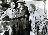 Shane (1953) <br /> Van Heflin, Alan Ladd, Jean Arthur &amp; Brandon De Wilde<br /> *Filmstill - Editorial Use Only*<br /> CAP/KFS<br /> Image supplied by Capital Pictures