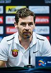 Shanghai SIPG FC head coach Andre Villas-Boas talks during Pre-Match Press Conference and Training Session prior to the AFC Champions League 2017 Quarter-Finals match between Shanghai SIPG (CHN) and Guangzhou Evergrande (CHN) at the Shanghai Stadium on 20 August 2017 in Shanghai, China. Photo by Yu Chun Christopher Wong / Power Sport Images
