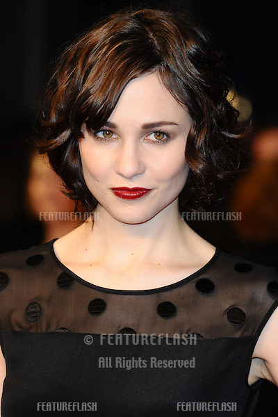 Tuppence Middleton arriving for the 'Tance' UK Premiere, Odeon Leicester Square, London.  19/03/2013 Picture by: Steve Vas / Featureflash
