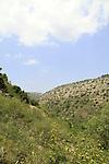 Israel, Wadi Amud in the Upper Galilee