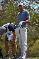 Tony Finau (USA) looks over his tee shot on 12 during round 1 of the World Golf Championships, Dell Match Play, Austin Country Club, Austin, Texas. 3/21/2018.<br /> Picture: Golffile | Ken Murray<br /> <br /> <br /> All photo usage must carry mandatory copyright credit (&copy; Golffile | Ken Murray)
