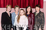 Betty Carmody, Elma Cremin, Gemma Cremin, Deirdre Carroll and Nora Murphy at the Friends of Chernobyl fashion show in Rathmore on Thursday night